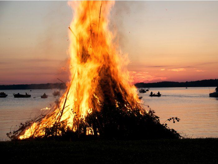 Tradición ancestral con el fuego