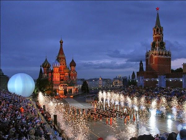 Acabar el año en Moscú