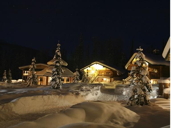 Una casa en la montaña para acabar el año