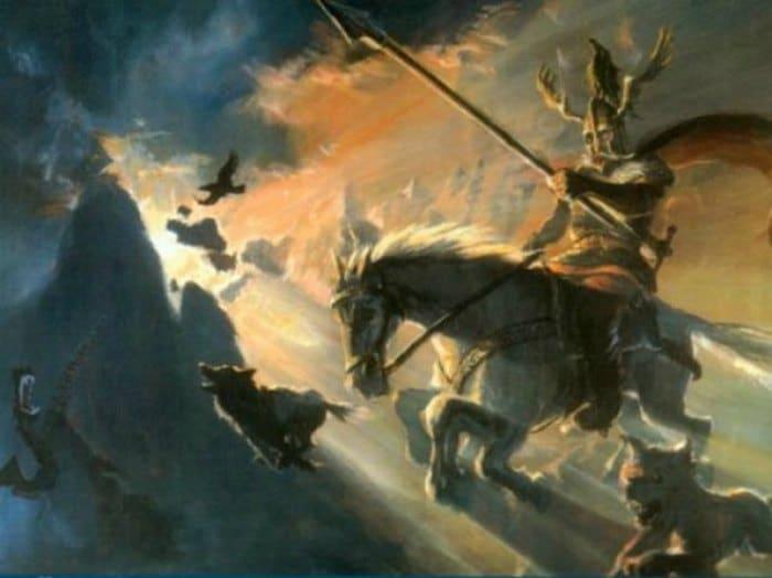 La Mitología escandinava tienen el martes 13 como día fatídico