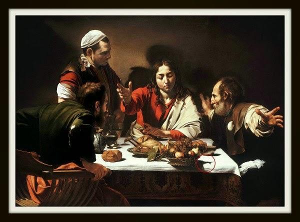 La cena de Emaús. Cuadros con misterios ocultos