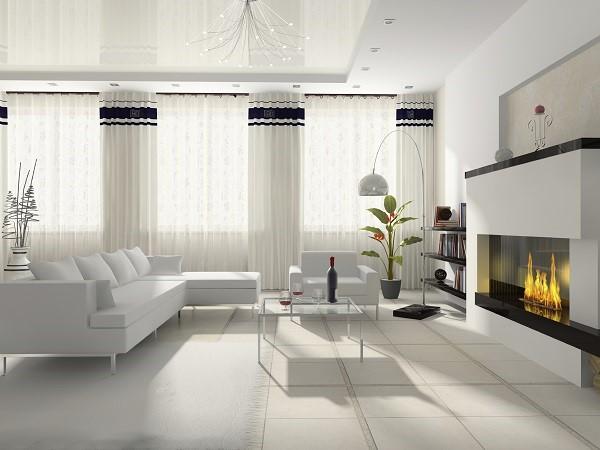 Casa blanca moderna