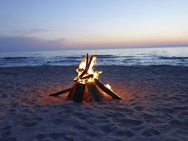 Hoguera playa
