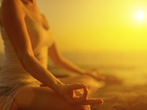Meditación, amanecer