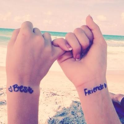 tatuajes originales amigos best friends