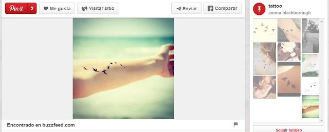 ideas para tatuajes pequeños pájaros