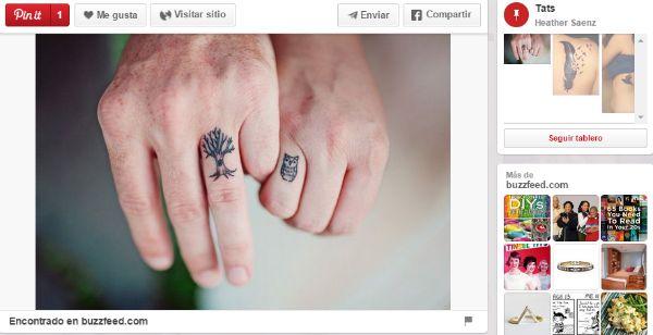 ideas para tatuajes parejas naturaleza