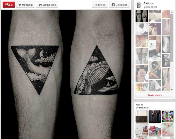 ideas para tatuajes parejas ballena