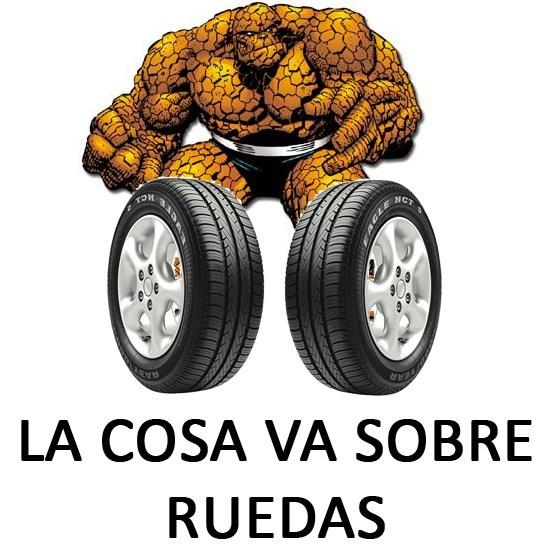 Memes sobre la cosa: la cosa va sobre ruedas