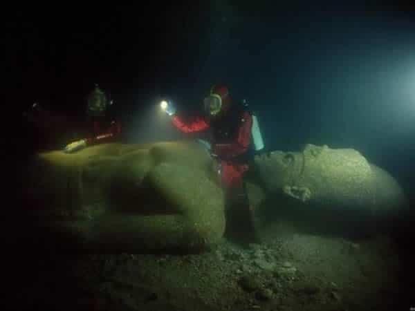 Ciudad encontrada bajo el mar