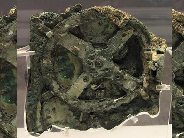 Mecanismo de Anticitera encontrado bajo el mar