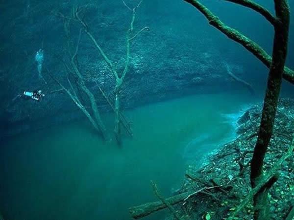 Río bajo el mar
