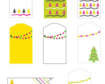 Etiquetas regalos de Navidad para imprimir