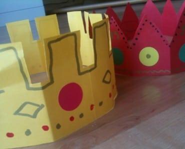 Cómo hacer coronas de papel para fiestas y celebraciones