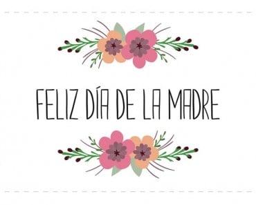 Bonitas tarjetas del Día de la Madre que puedes imprimir gratis