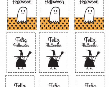 Tarjetas de Halloween para imprimir gratis