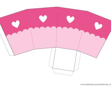10 cajitas imprimibles para el 14 de febrero