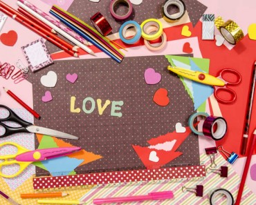 10 manualidades fáciles para San Valentín
