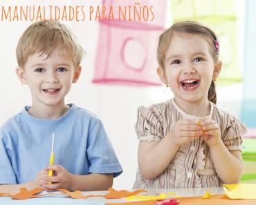 5 manualidades para niños fáciles y divertidas