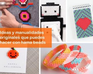 Manualidades originales con Hama Beads