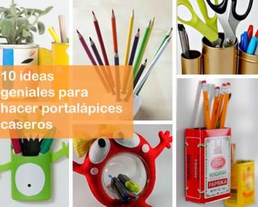 10 ideas para hacer portalápices originales y bonitos