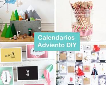 18 calendarios de Adviento caseros fáciles de hacer
