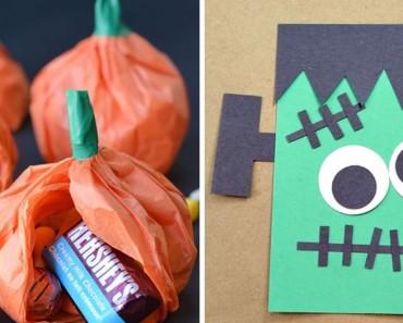 Creativas y divertidas manualidades de Halloween para niños