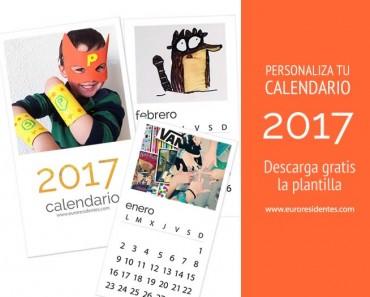 Haz tu propio calendario personalizado 2017