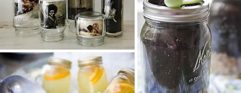 Creativas ideas para reciclar tarros de cristal
