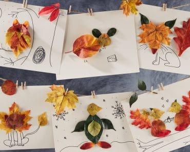 Manualidades con hojas: Ideas creativas y divertidas