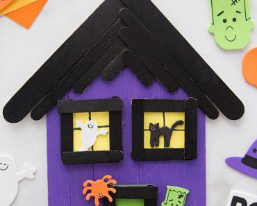 Manualidades de Halloween con palitos de madera