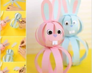 6 ideas para hacer un conejo de Pascua