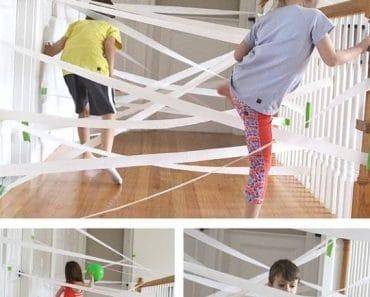 Juegos para organizar una gincana en casa para niños y niñas