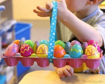 6 manualidades de Pascua con materiales reciclados