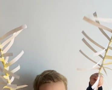 Cómo hacer una Palma de papel para Domingo de Ramos