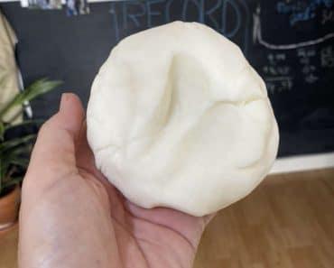 Cómo hacer pasta de modelar casera con harina y bicarbonato
