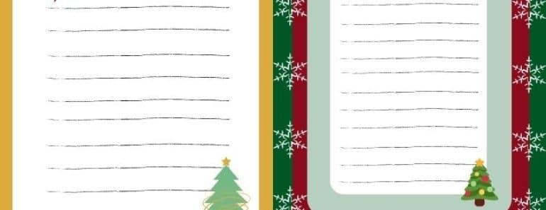 Descargables para decorar la mesa de Navidad gratis