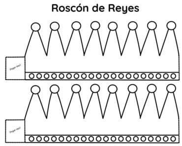 Corona Rey Mago para el Roscón de Reyes