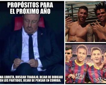 Los mejores memes del Madrid - Barcelona