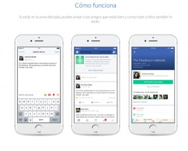 Safety Check: la alarma de seguridad de Facebook para informar que estás a salvo