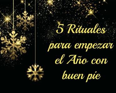 Cinco rituales para empezar el Año Nuevo con buen pie