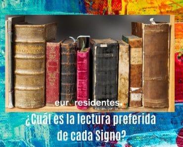 ¿Cuál es la lectura preferida de cada Signo?