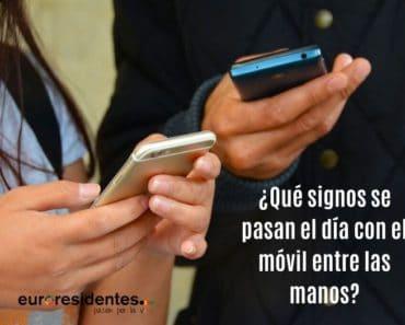 ¿Qué signos se pasan el día con el móvil entre las manos?