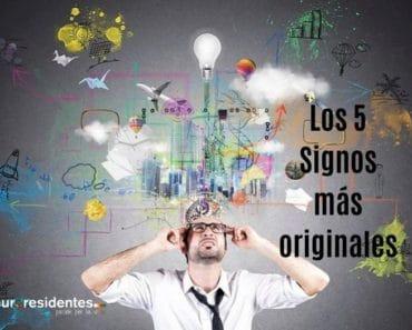 ¿Qué 5 Signos más originales e imaginativos?