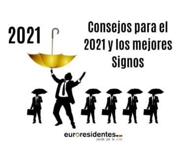 Consejos para el 2021 y los mejores Signos del año