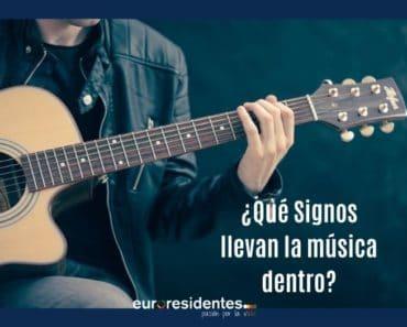 ¿Qué Signos llevan la música dentro?
