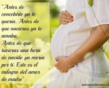 Frases para Madres Embarazadas