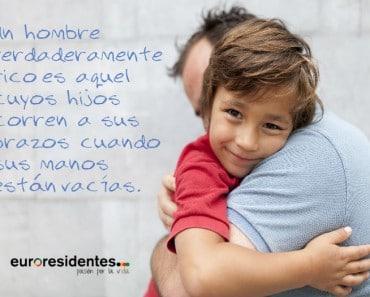 Frases para mostrar afecto a un padre