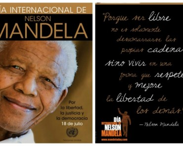 15 inolvidables citas célebres de Nelson Mandela