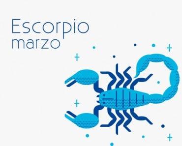 Horóscopo Escorpio Marzo 2021